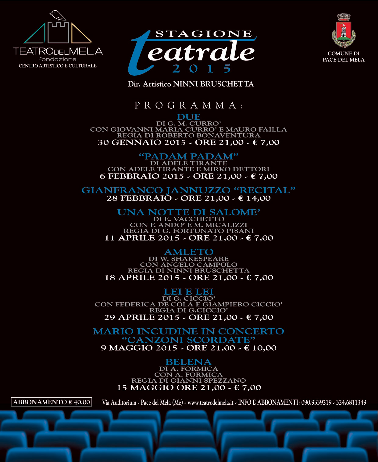 Stagione Teatrale 2015